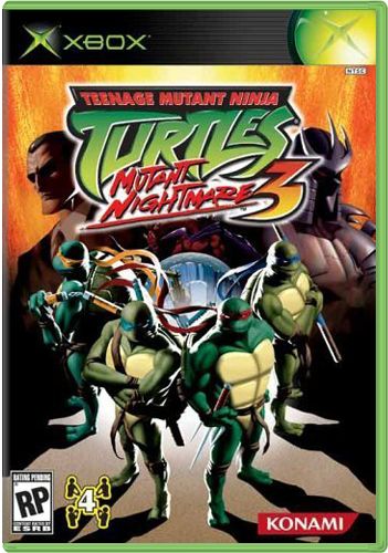 [Original Xbox] Teenage Mutant Ninja Turtles 3: Mutant Nightmare [ENG+RUS/NTSC] RUSS VIDEO
