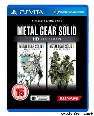 Скачать [PS Vita]Metal Gear Solid HD Collection