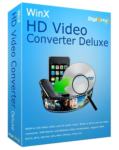 WinX HD Video Converter Deluxe v3.12.5 build 20121210 Final *NEW KEY* (2012) Русский + Английский