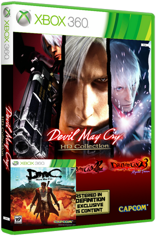 [XBOX360] Атология Devil May Cry [Region Free][ENG/rus](XGD3) (LT+ 3.0)  релиз от BESTiaryofconsolGAMERs