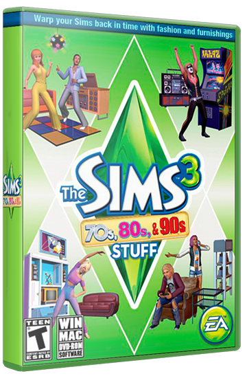 The Sims 3 70s 80s & 90s Stuff (Maxis) (RUS|ENG|MULTI) [L] *FLT*
