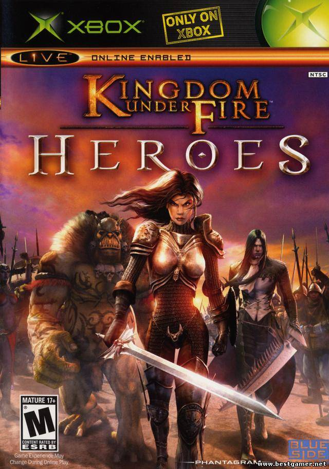 [XBOX] Kingdom Under Fire: Heroes [RUS]-уникально