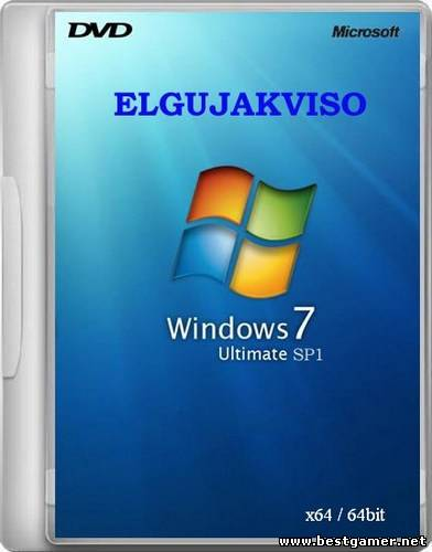 Windows 7 Ultimate SP1 Elgujakviso Edition -v2 [x64] [2013] [RUS]