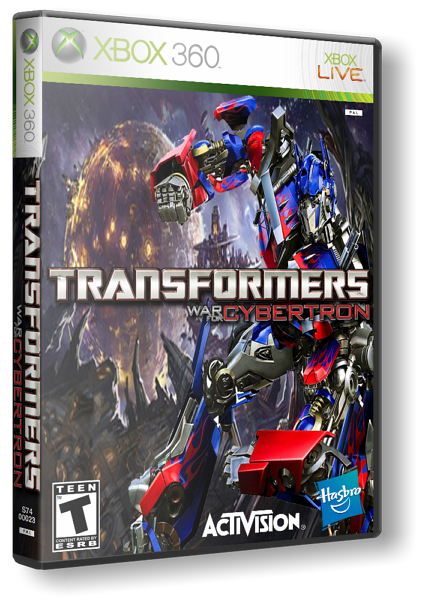 [XBOX360] Transformers: War for Cybertron [GOD / RUSSOUND]