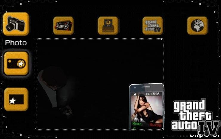 "GTA IV ""New 25 Phone Themes & New TV"""
