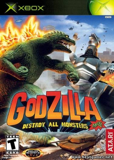 [Original Xbox] Godzilla Destroy All Monsters Melee [REGION FREE / ENG]