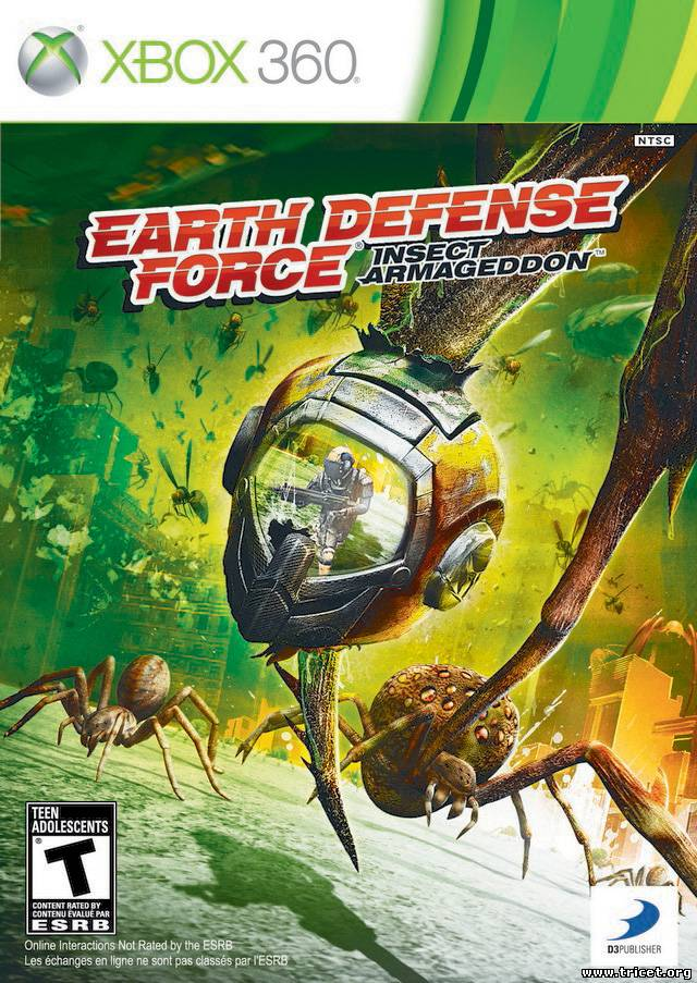 Earth Defense Force: Insect Armageddon(2011) [PAL / ENG]