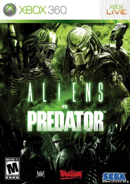 [XBOX360] Aliens vs. Predator [PAL] [2010 / English]