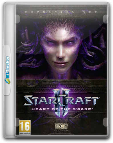 StarCraft II: Сердце Роя / StarCraft II: Heart of the Swarm (2013) PC | Repack от BlackBox