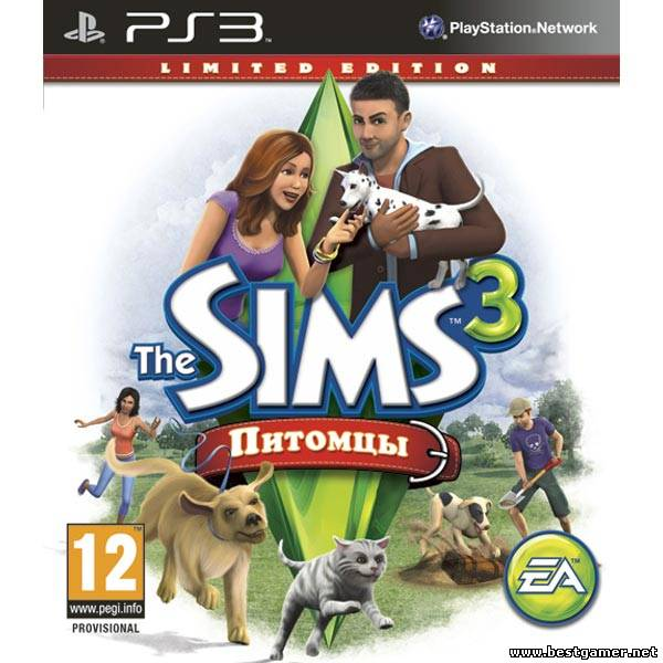 The Sims 3: Pets [Русский] (2011) [PS3]