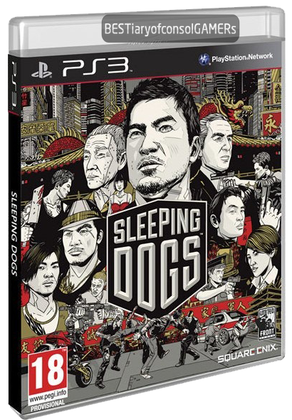 (PS3) Sleeping Dogs DLC Pack - COMPLETE от BESTiaryofconsolGAMERs