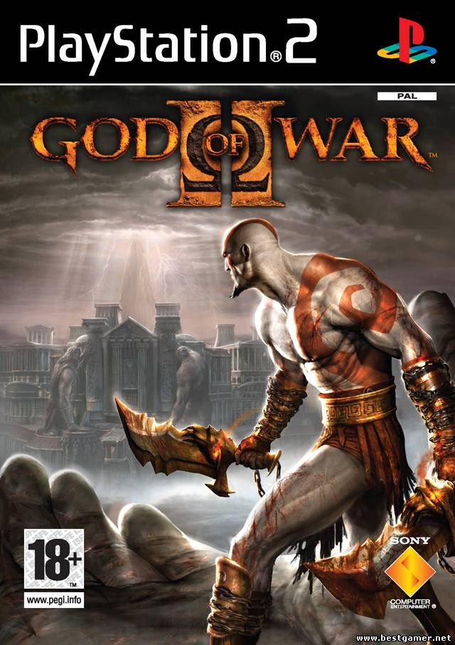 [PS2] God of War II(2) [Full RUS/Multi6|PAL][DVD9]