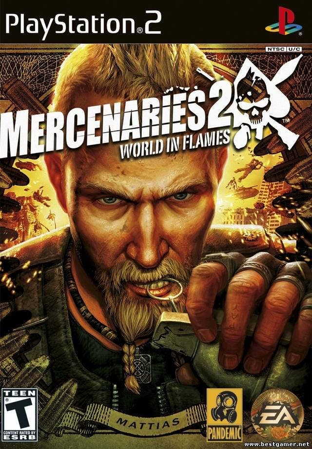 [PS2] Mercenaries 2 - World in Flames [RUS/ENG|NTSC](обновлено)