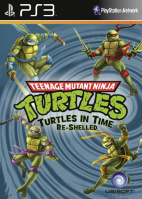 TMNT Turtles In Time Re-Shelled (2009) [USA] [ENG] [Repack] [3.55] [4.30]