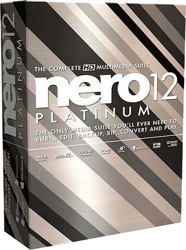 Nero 12 Platinum v12.5.01300 Final [2013, Multilang/Rus] + Content Pack
