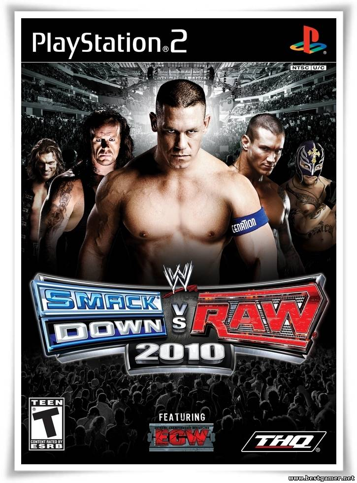 [PS2] WWE SmackDown! vs. RAW 2010 [Multi3|NTSC]