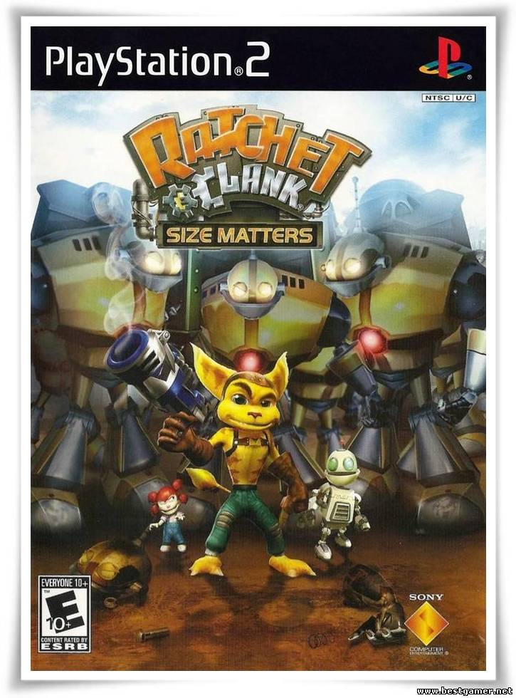 [PS2] Ratchet & Clank: Size Matters [RUS|NTSC]