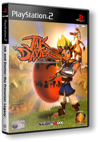 [PS2] Jak and Daxter: The Precursor Legacy [ENG(RUS only sound)|NTSC]