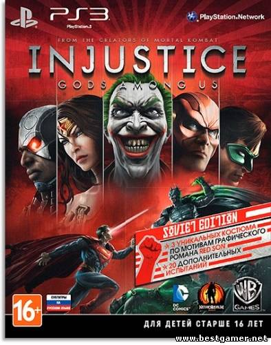 [PS3] Injustice: Gods Among Us [EUR/RUS]