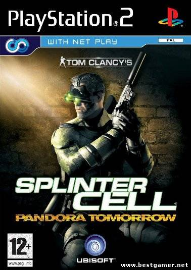 [PS] Tom Clancy`s Splinter Cell: Pandora Tomorrow [Full RUS|PAL]текст+звук