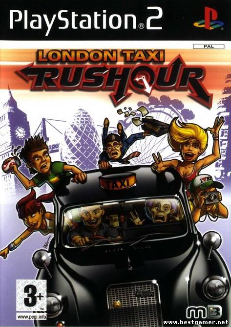 [PS2] London Taxi: Rushour (Rush Hour) [ENG|PAL][CD]