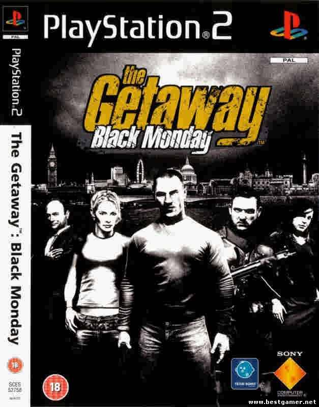 PS2 - The Getaway Black Monday (PAL, Multi 5)