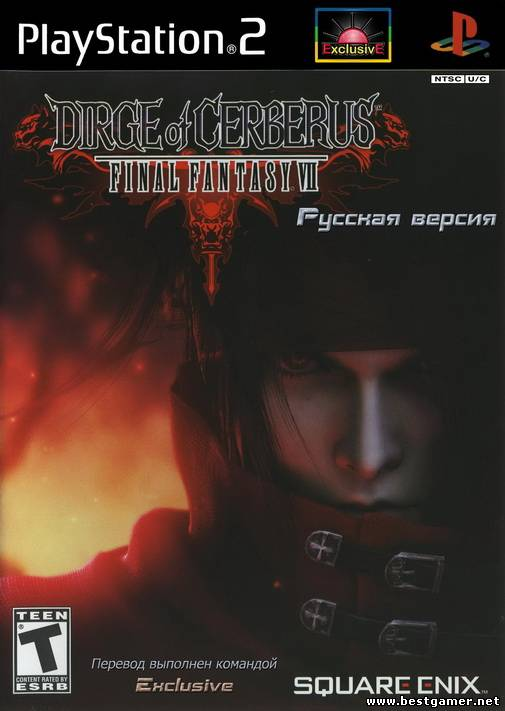 [PS2] Final Fantasy VII: Dirge of Cerberus [RUS|NTSC][«Exclusive»]