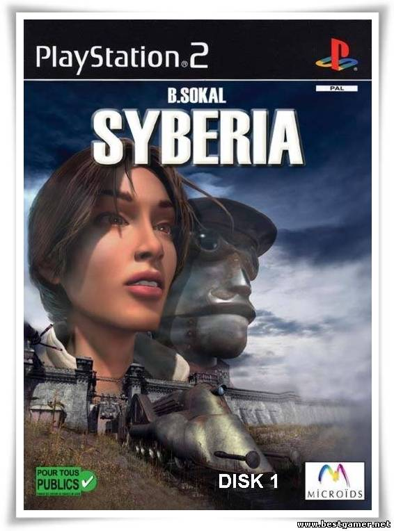 [PS2] Syberia [Full RUS|PAL]