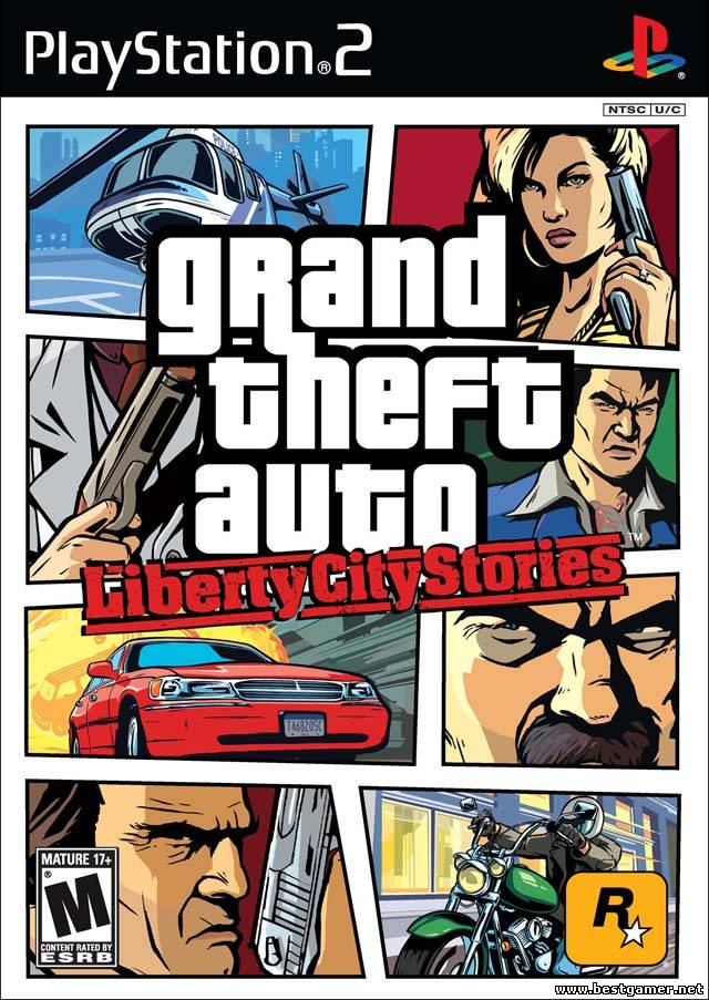 [PS2] Grand Theft Auto Liberty City Stories (GTA LCS) (от Dageron) [RUS|NTSC]