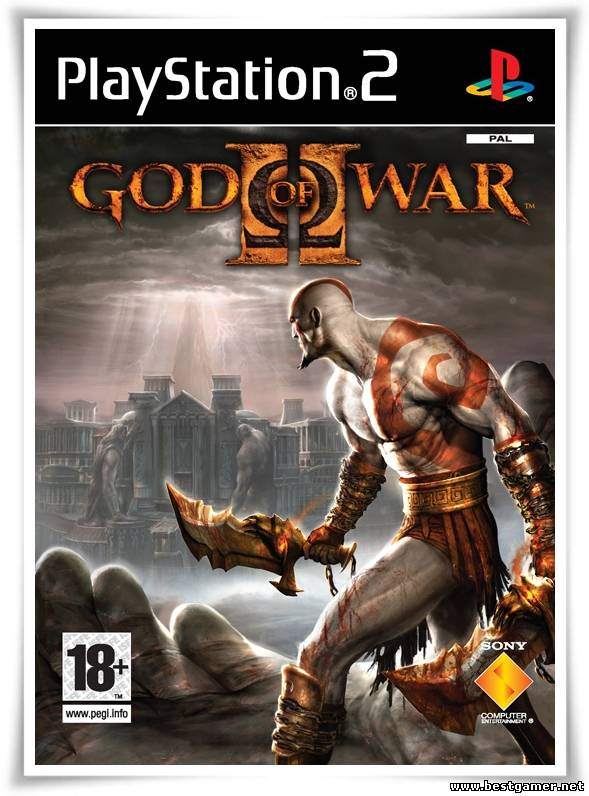[PS2] God of War II(2) [Full RUS/Multi6|PAL][DVD5]