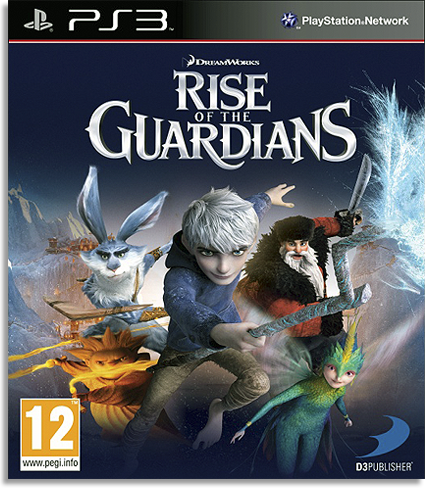 Rise of the Guardians (2012) [PS3] [USA] 4.25 [Cobra ODE / E3 ODE PRO ISO]