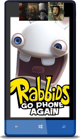 [Windows Phone 7,8] Rabbids Go Phone (v1.0.0.0)  ENG]