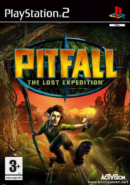 [PS2] Pitfall: The Lost Expedition [Full RUS/ENG|PAL]