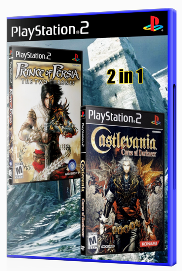 [PS2][2 in 1] Prince of Persia: The Two thrones & Castlevania: Curse of Darkness [ENG|NTSC]