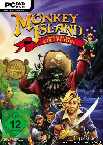 The Monkey Island Special Edition Collection Lucasarts ENG L