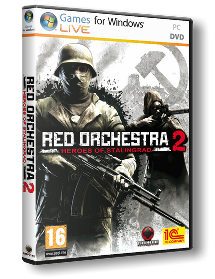 Red Orchestra 2: Герои Сталинграда Red Orchestra 2: Heroes of Stalingrad 1С-СофтКлаб RUS|ENG P