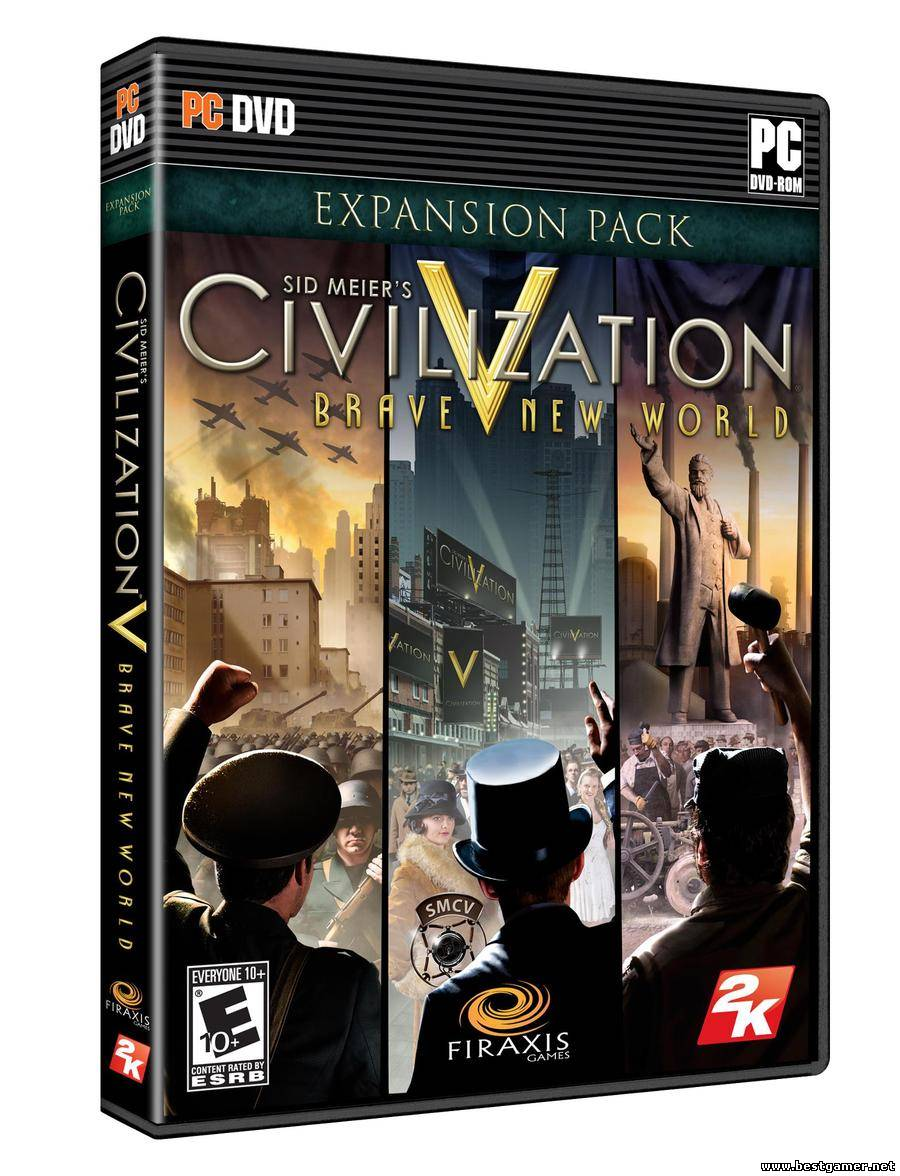 Sid Meiers Civilization V Brave New World [English][L][EXPANSION][3DM]