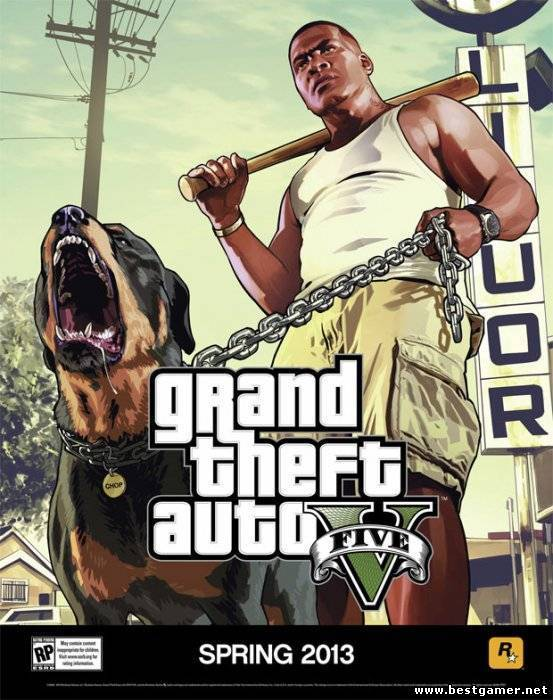 Геймплейный трейлер Grand Theft Auto V