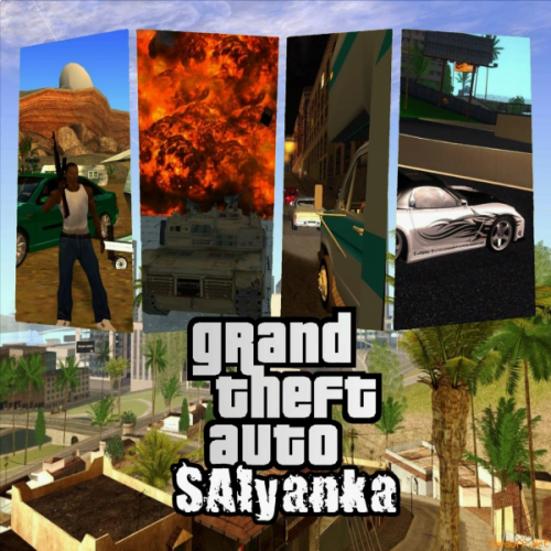 GTA / Grand Theft Auto: SAlyanka + Update 0.2d [2013, RUS/ENG, L]