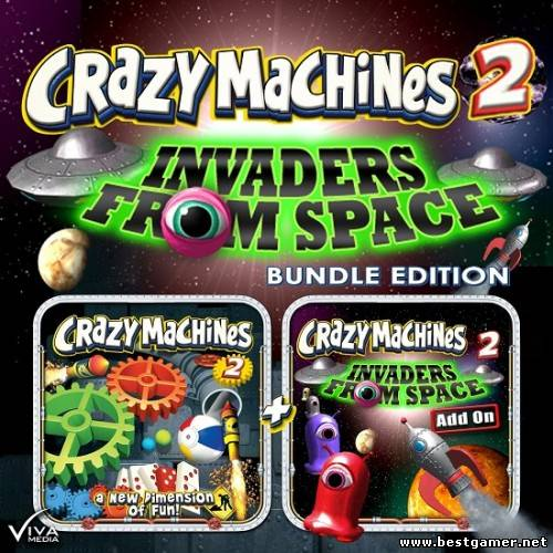 Crazy Machines 2: Invaders from Space (Viva Media) (ENG) - TiNYiSO