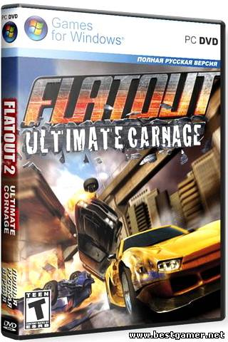 FlatOut Ultimate Carnage (2008) (Бука) (Rus) [RePack] от Loner