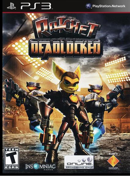 Ratchet: Deadlocked HD [FULL] [ENG] [3.41/3.55/4.21/4.30+]