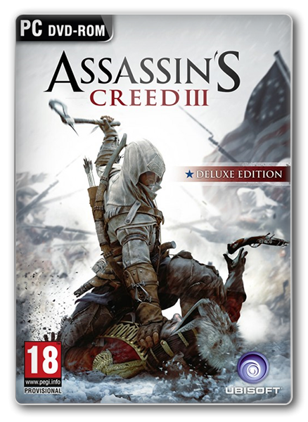 Assassin's Creed 3 Deluxe Edition + Full DLC (v.1.06) Цифровая Лицензия