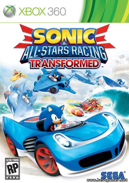 [XBOX360] Sonic & All Stars Racing Transformed [Xbox 360] [ENG] [RegionFree]