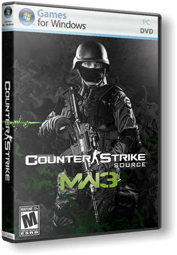 Counter Strike Source - Modern Warfare 3 [2013, RUS, ENG, MOD]