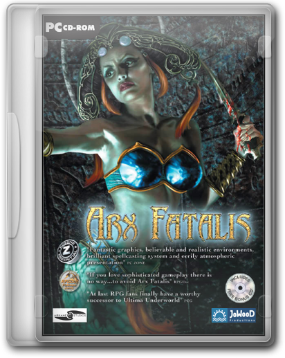 Arx Fatalis (JoWooD Productions) (RU/EN/FR/DE/IT/ES) (2002) [RePack by KloneB@DGuY]