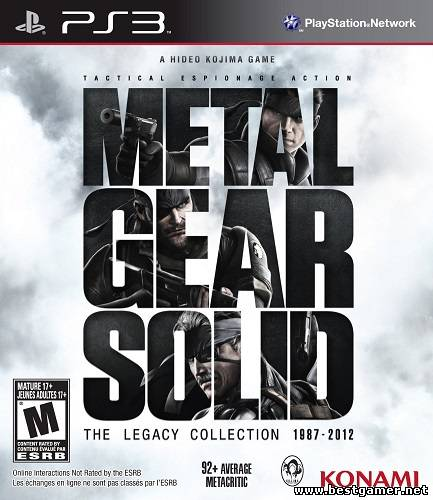 Metal Gear Solid: The Legacy Collection [USA\ENG][4.30 CFW]