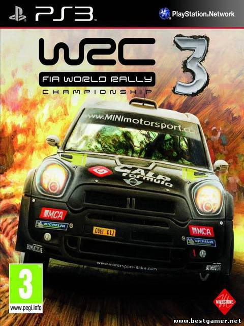 [PS3] WRC 3: FIA World Rally Championship [ENG] [FULL] [3.55/4.41]