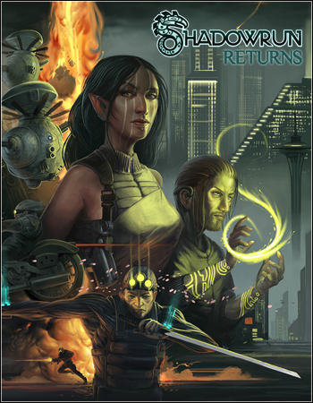 Shadowrun Returns (Harebrained Schemes) (ENG) [Repack] от R.G. Origami