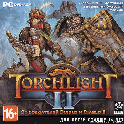 Torchlight 2 + Official Soundtrack (Perfect World Entertainment - (1.25.5.2) (RUS-ENG-MULTI4) [Repack] От R.G. Revenants